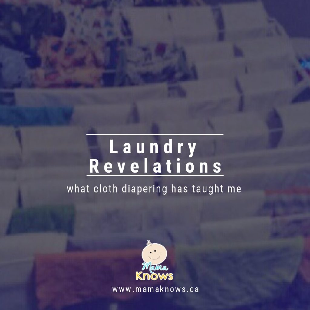 What cloth diapering has taught me about laundry