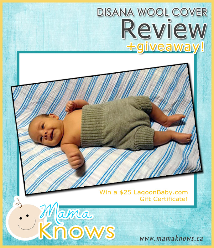 Photo: Disana Wool Cloth Diaper Cover