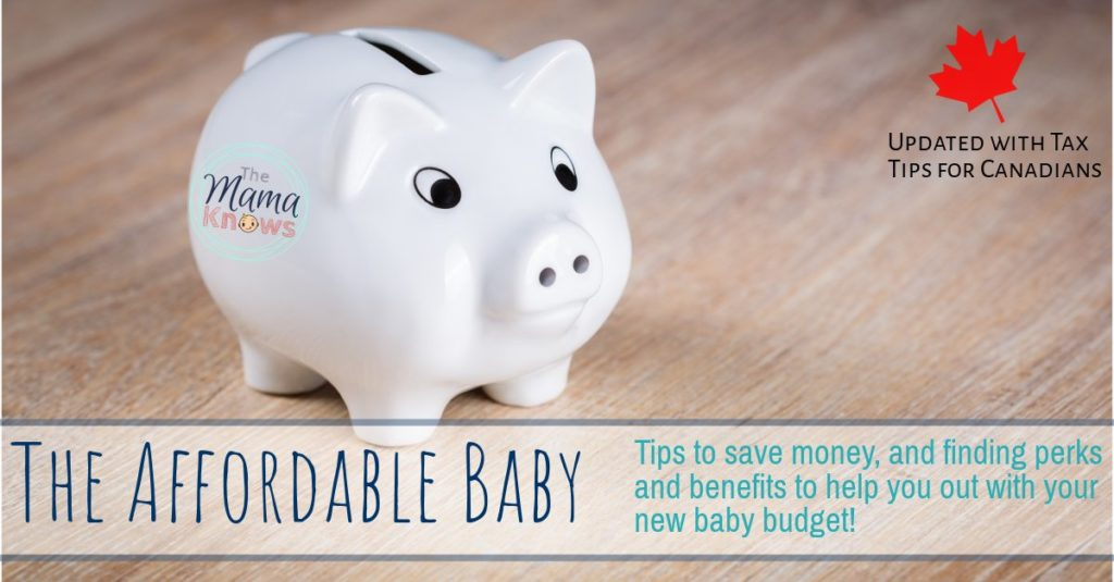 Money saving tips to make your new baby more affordable