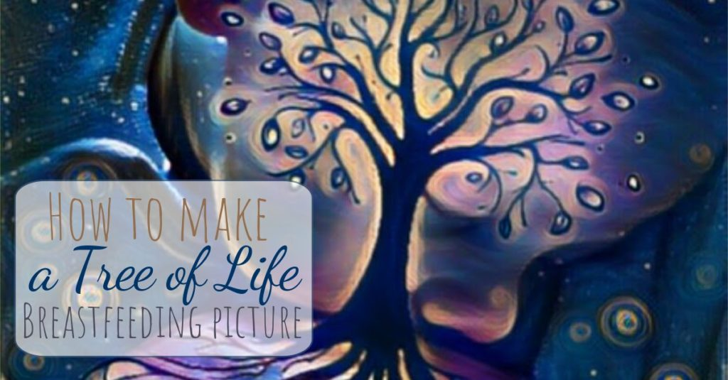 Heading image how to make a tree of life breastfeeding picture