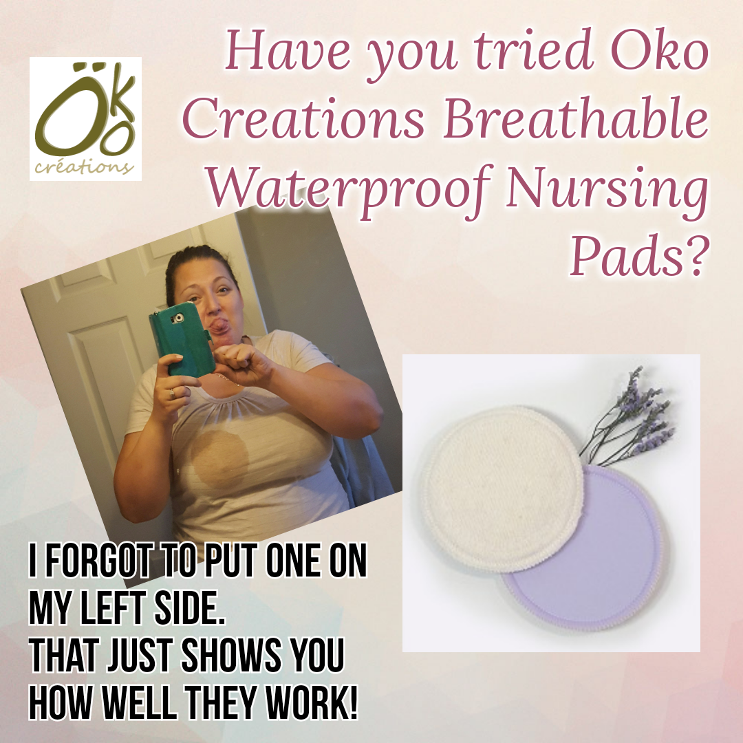 Oko Creations Breathable Waterproof Nursing Pads