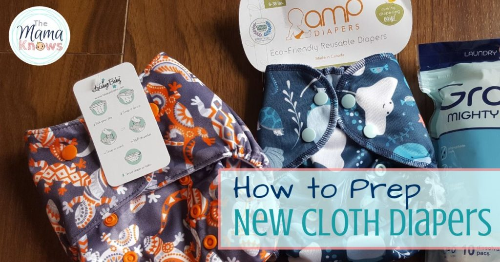 How to prep your new Cloth Diapers
