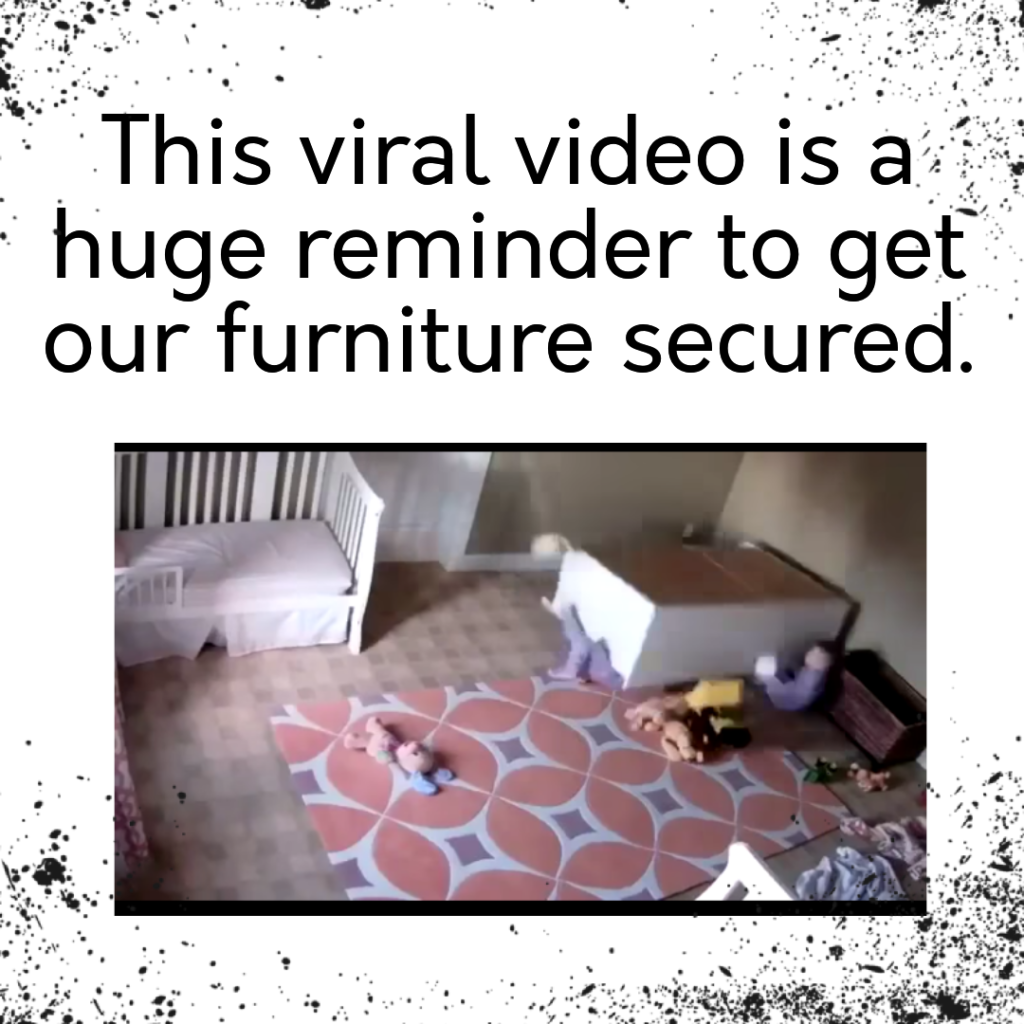 Secure furniture safety