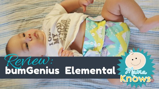 bumGenius Elemental Cloth Diaper Review