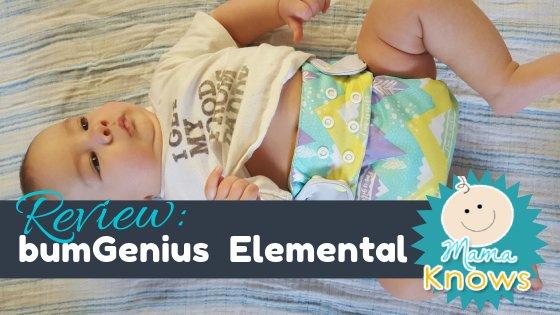bumGenius Elemental Cloth Diaper Review