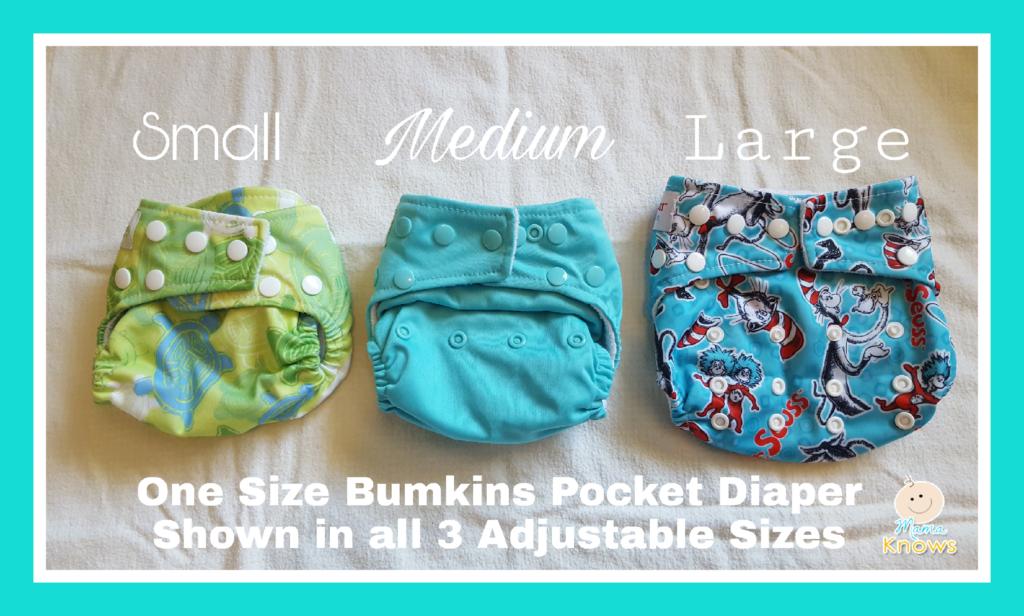 Cloth diaper adjustable rise
