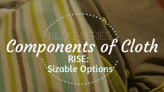Cloth diaper adjustable rise information