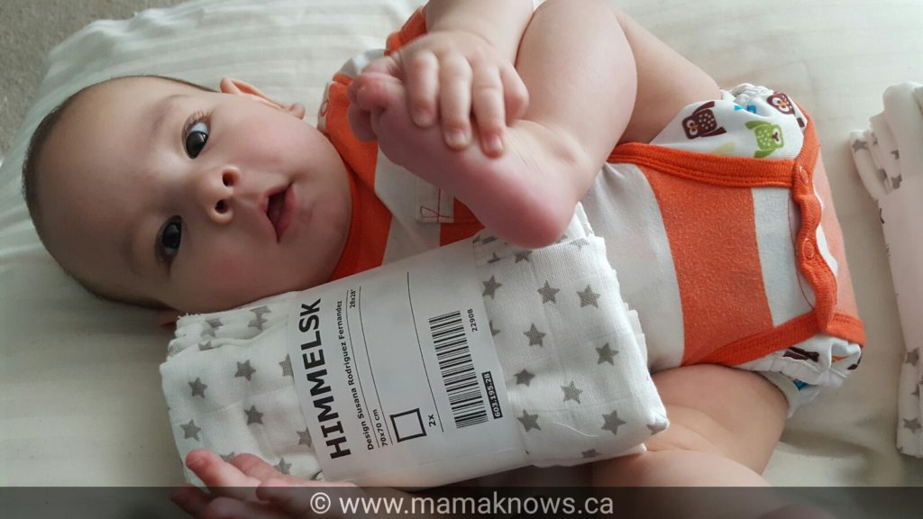 Ikea cloth diaper absorbency burp cloth