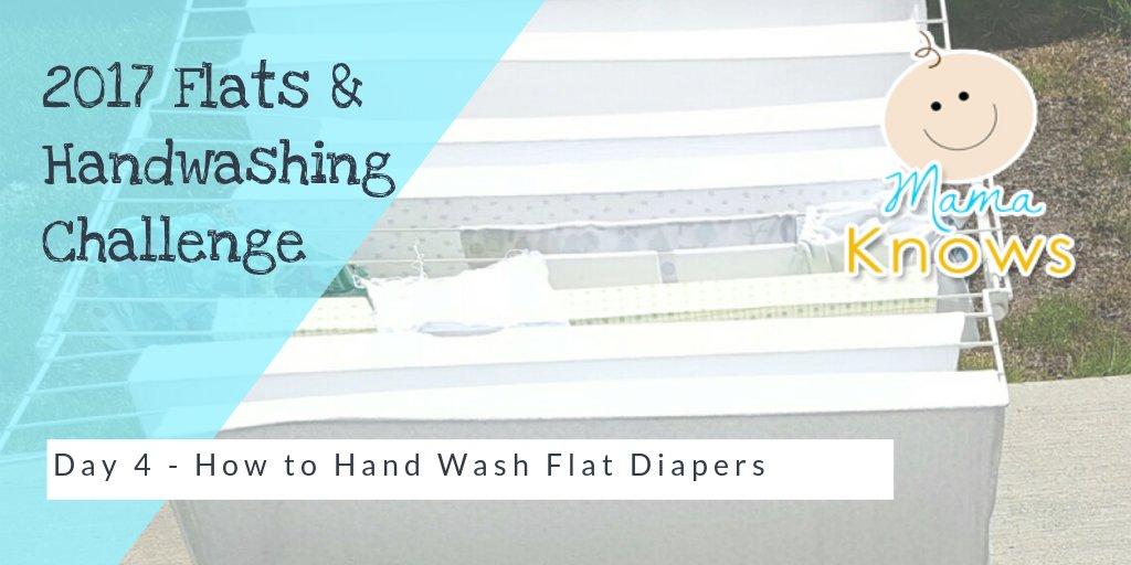 how to hand wash flat cloth diapers flatschallenge