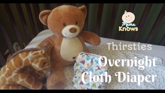 Thirsties Overnight Cloth Diaper