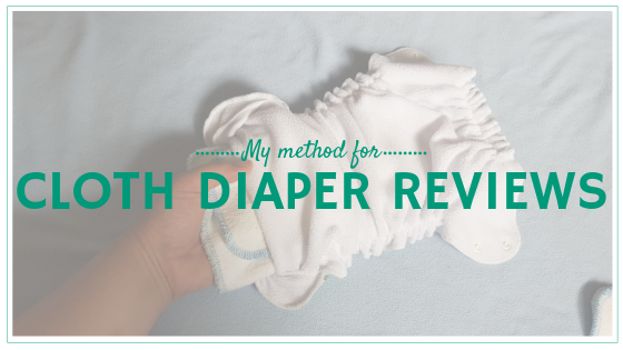 What goes in to a Mama Knows Cloth Diaper Review?