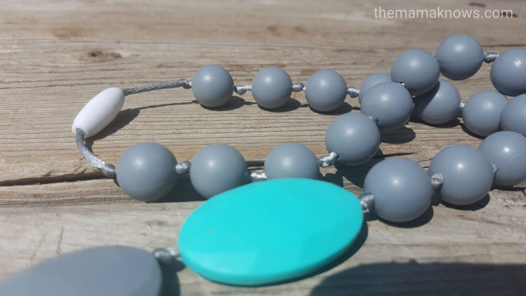 wearable teething jewelry for mom teething necklace