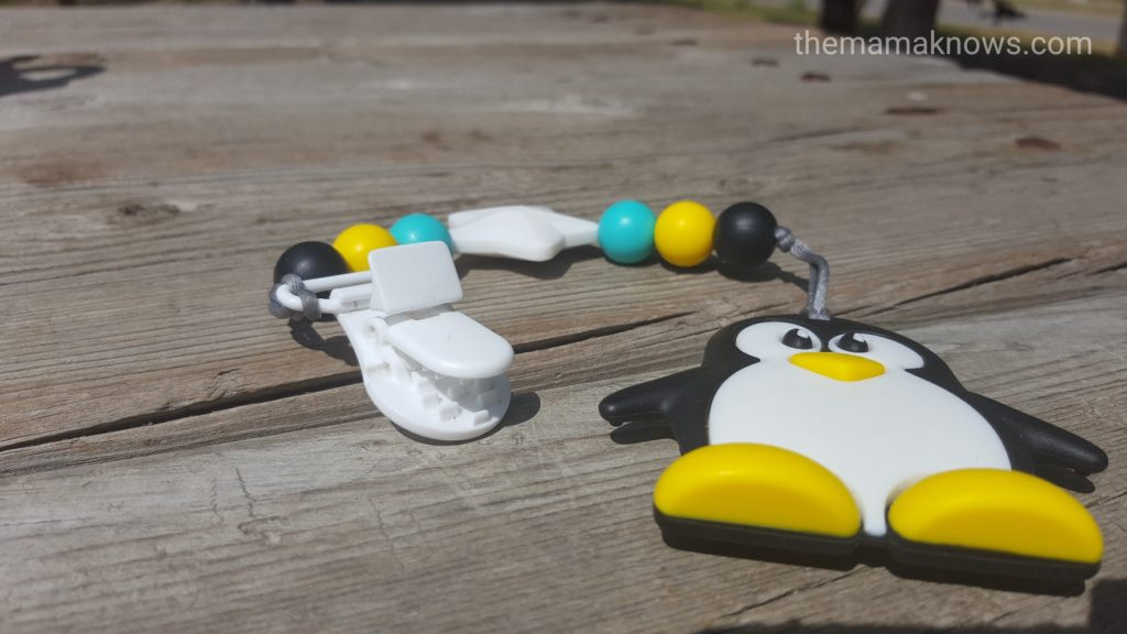 clip on Teether for Babywearing