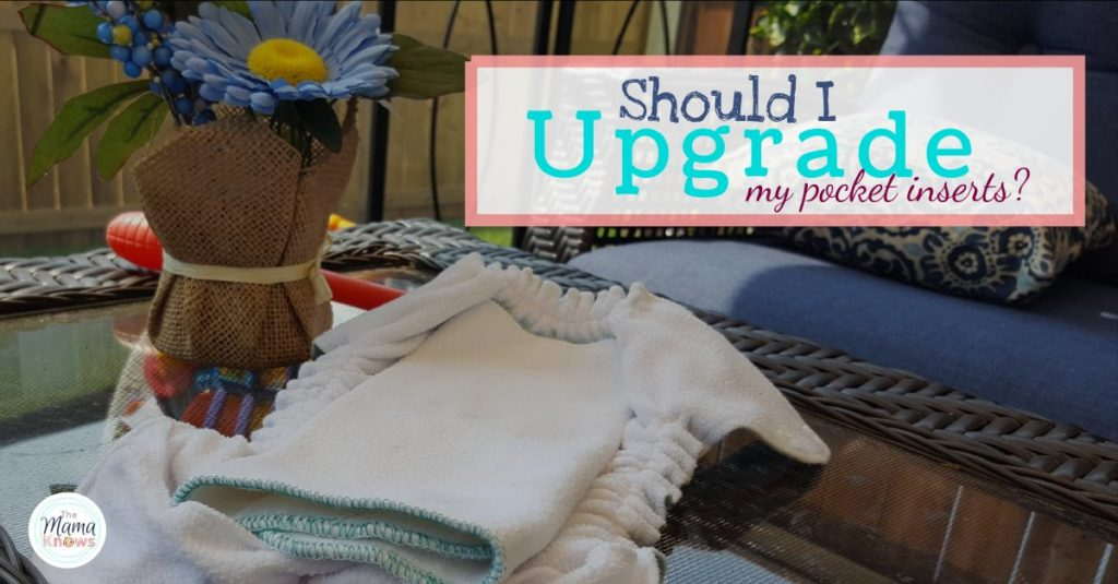upgrade microfiber inserts for pocket diapers