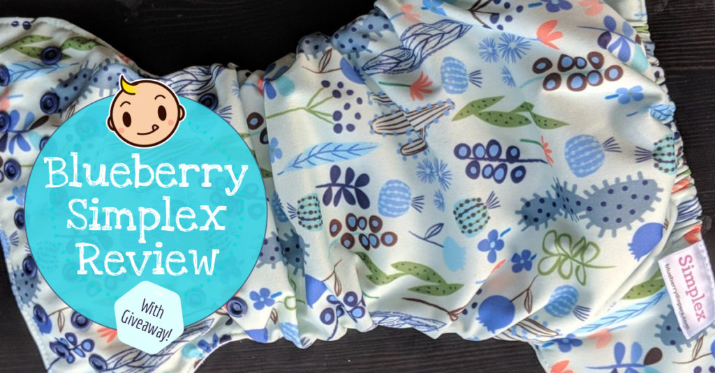 Blueberry Simplex Cloth Diaper Review and Giveaway!