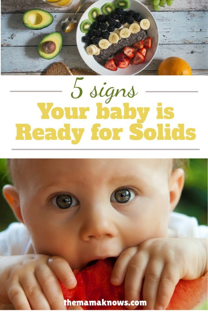 Learn the 5 biological cues your baby will give you when they are ready to move on from breastmilk or formula
