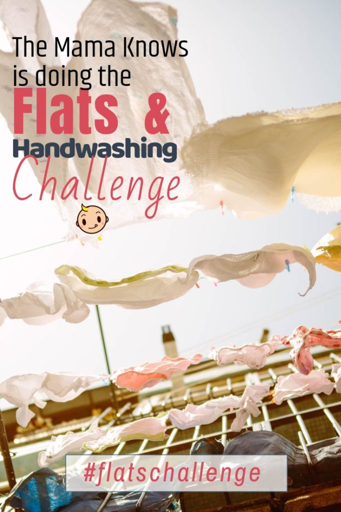 I'm getting ready for the 2018 Flats and Handwashing Challenge! Get your flat diapers and cloth diaper covers ready, it's gonna be a great week!