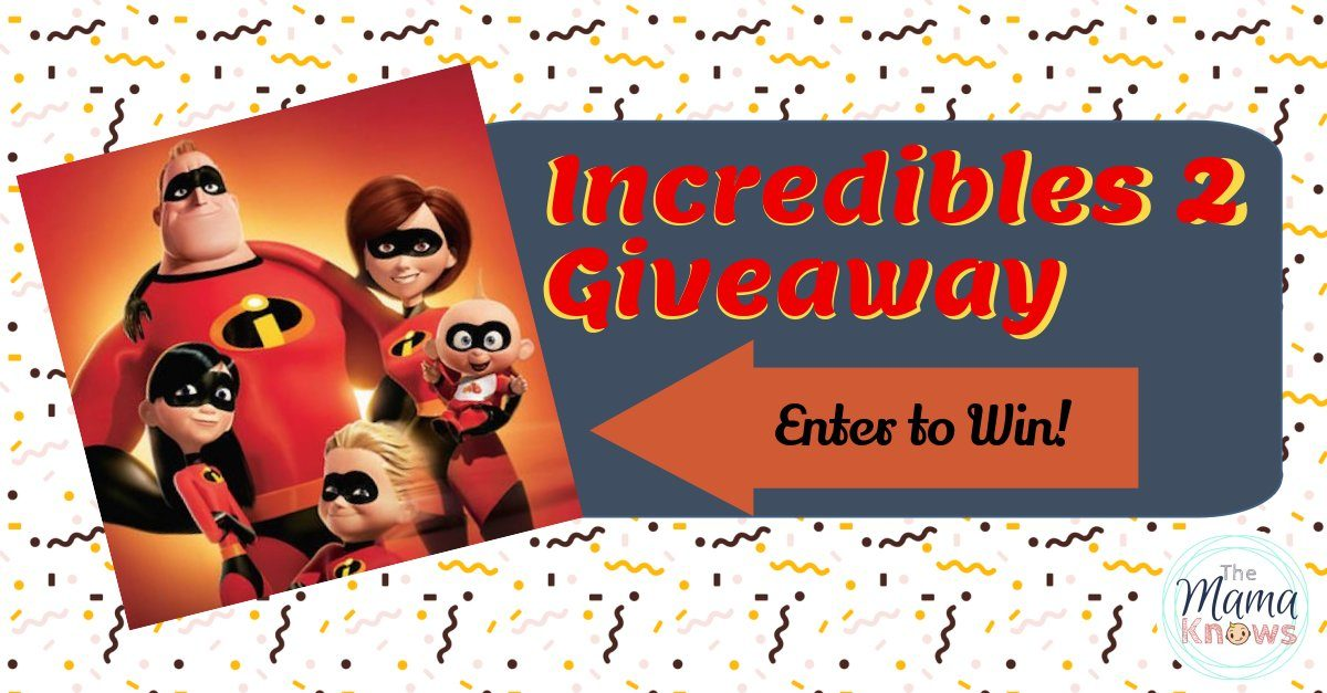 The Incredibles 2 is in theatres this month! (Special Giveaway!)