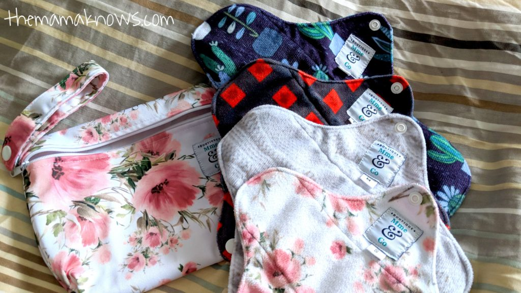 Mme & Co. cloth pads review