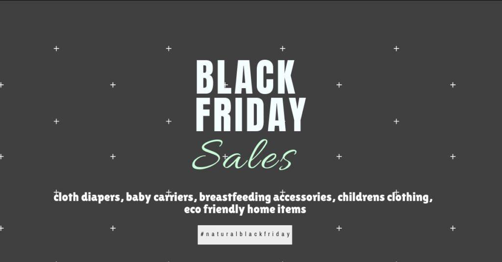 Natural parenting black Friday Sales