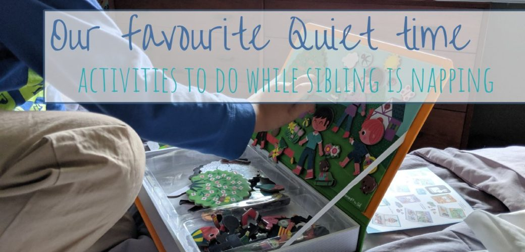 Favourite Quiet Time activities