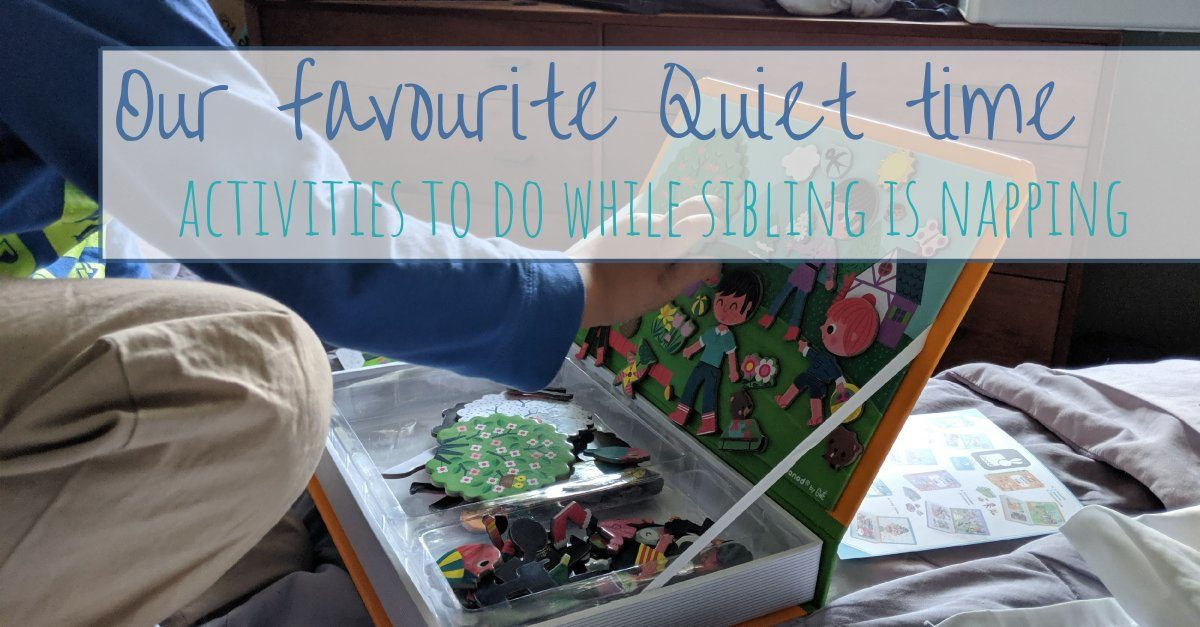 quiet time activities article header image